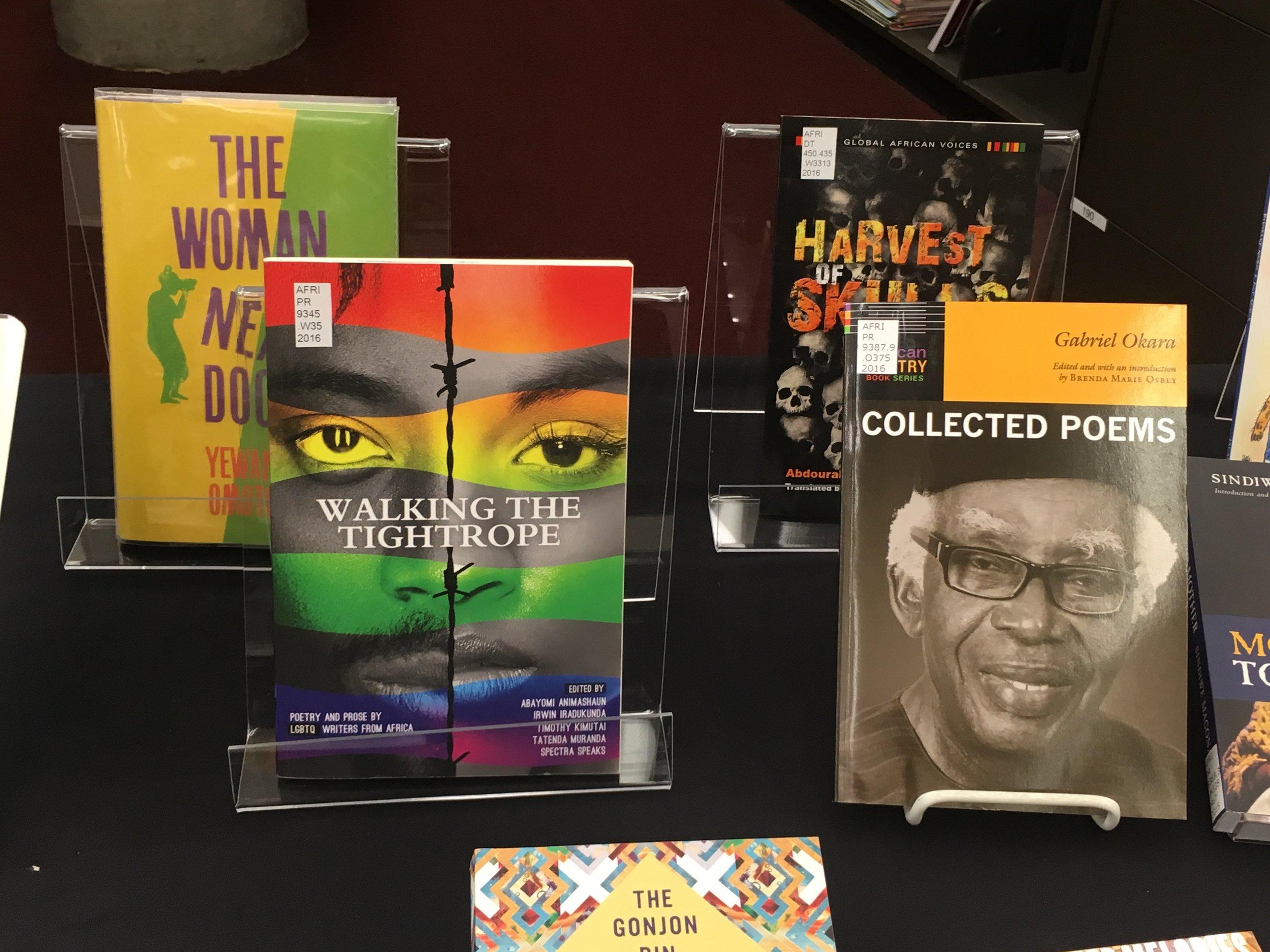African literature from the Melville J. Herskovits Library of African Studies, curated by Florence Mugambi.