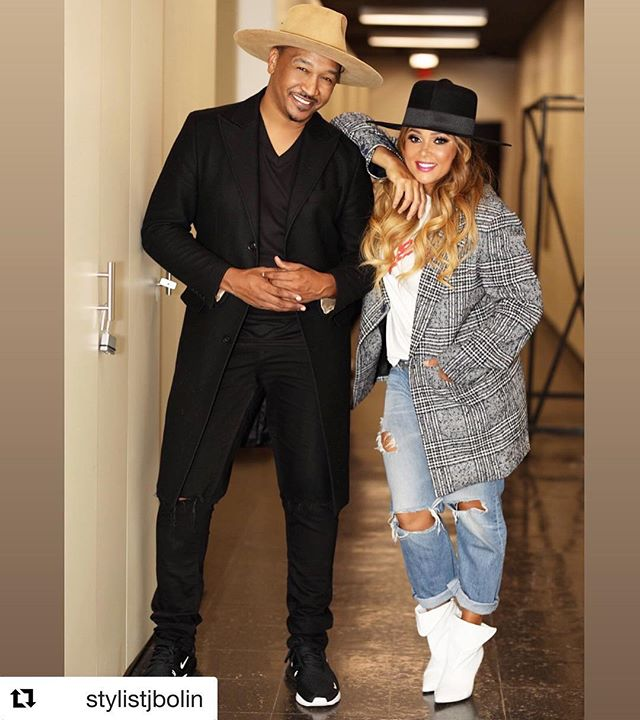 #Repost @stylistjbolin with @get_repost ・・・ Inducted my client @realtamiaworld into the HAT HALL OF FAME last night 😂😂🙌🏾❤️❤️🤷🏾♂️ @mosesandbritain 🎩! Tamia you are an amazing soul!! Thanks for trusting me with your image! There aren't enough words to express our continuous dressing room chuckles!! TAMIA in @mosesandbritain 🙌🏾🙌🏾🙌🏾🙌🏾