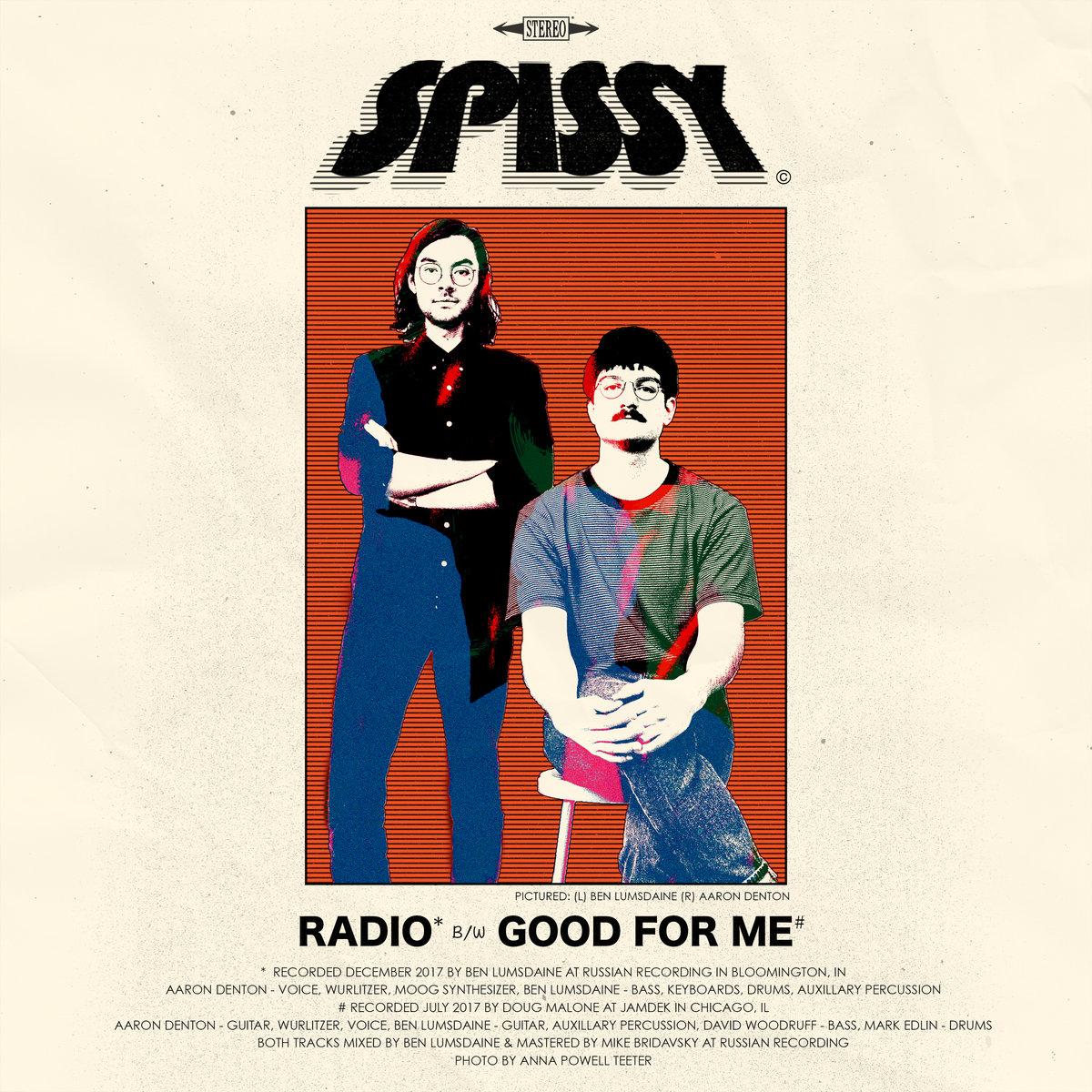 Copy of Spissy - Radio b/w Good For Me