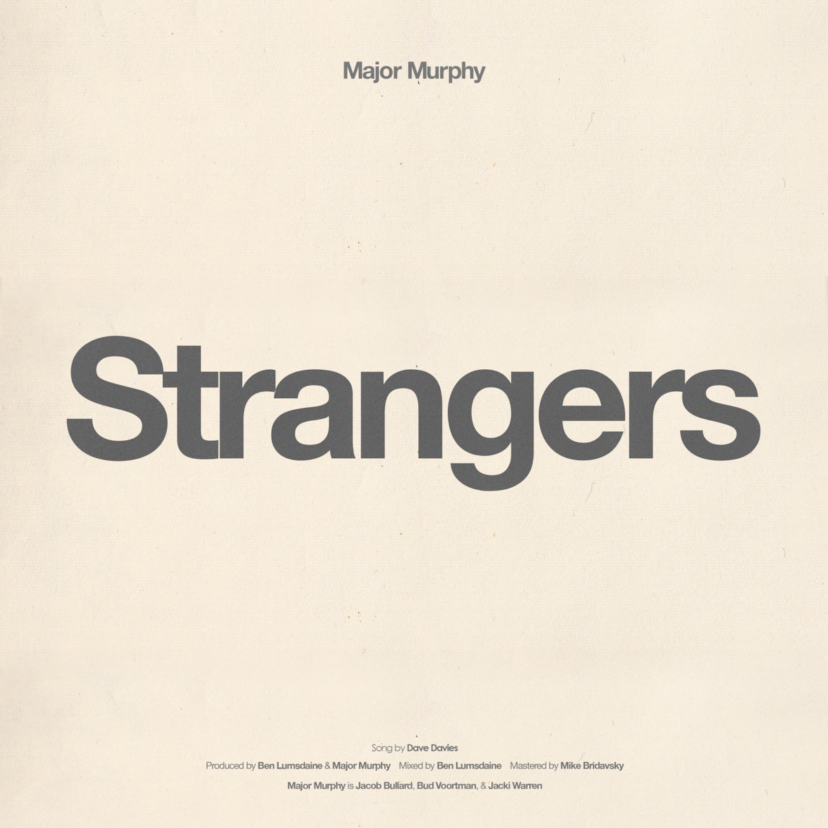Major Murphy - Strangers