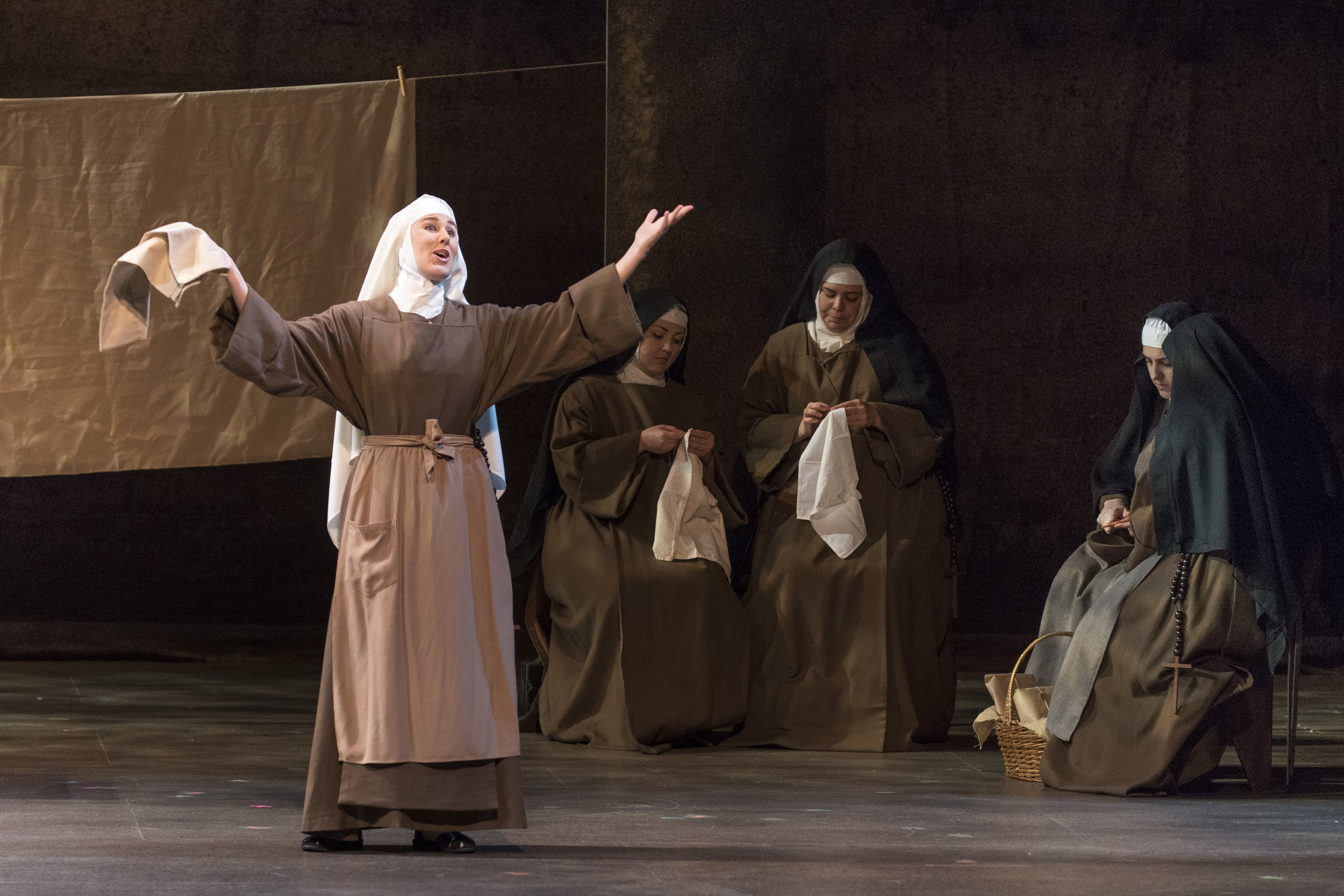 Soeur Constance,  Dialogues des Carmélites   Sarasota Opera (2017)