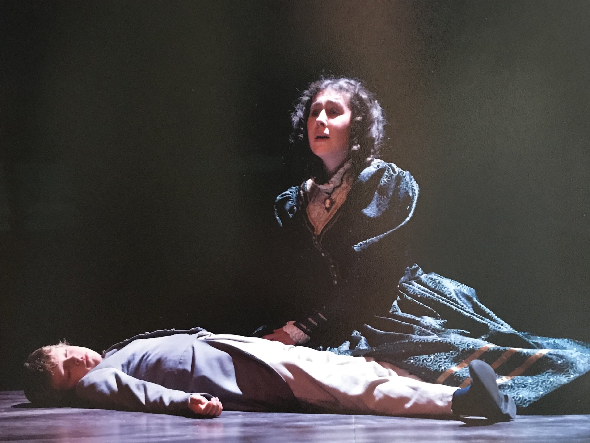 The Governess ,  Turn of the Screw   Banff Opera Theatre (2010)