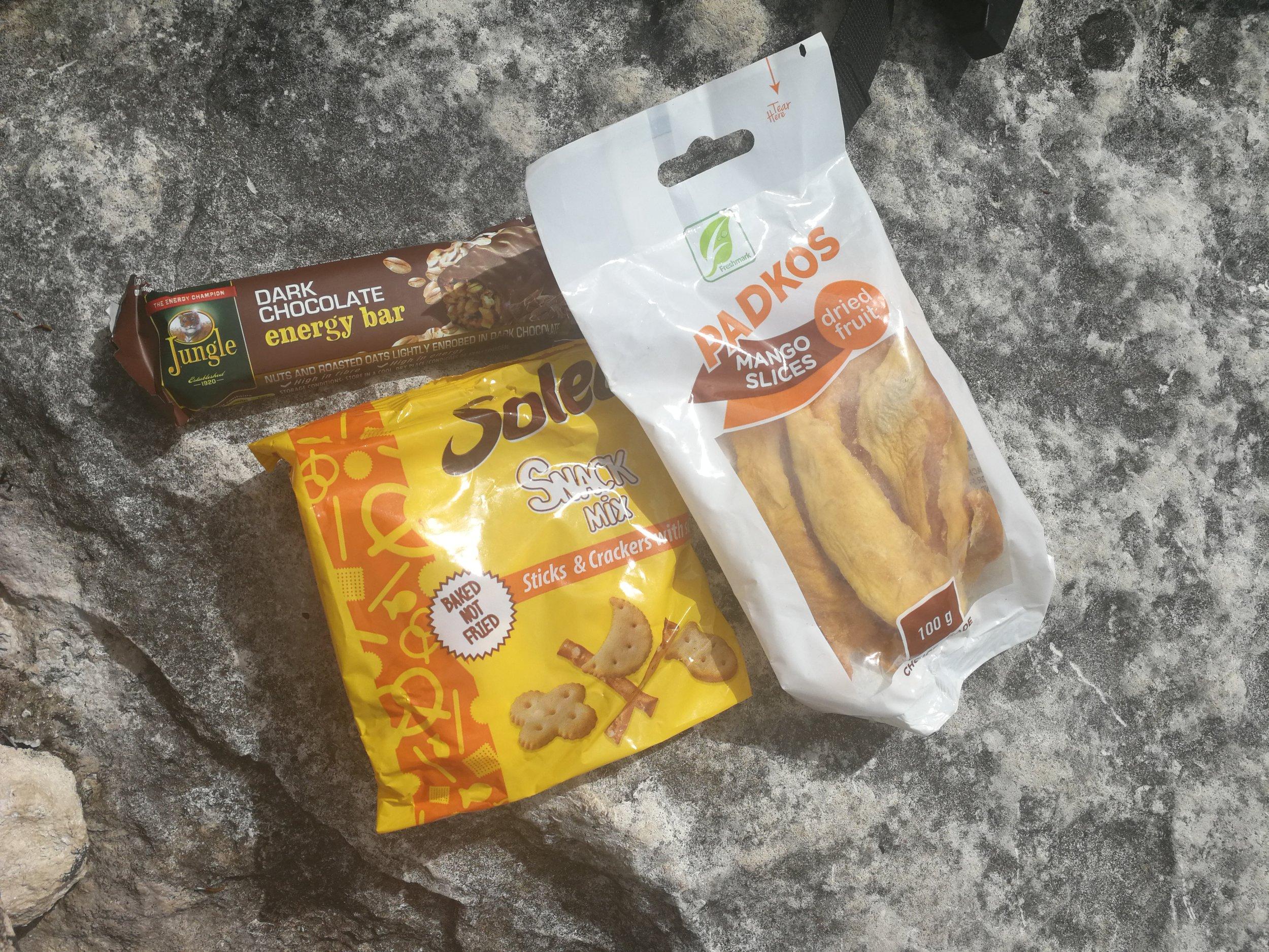 Day 3 snacks