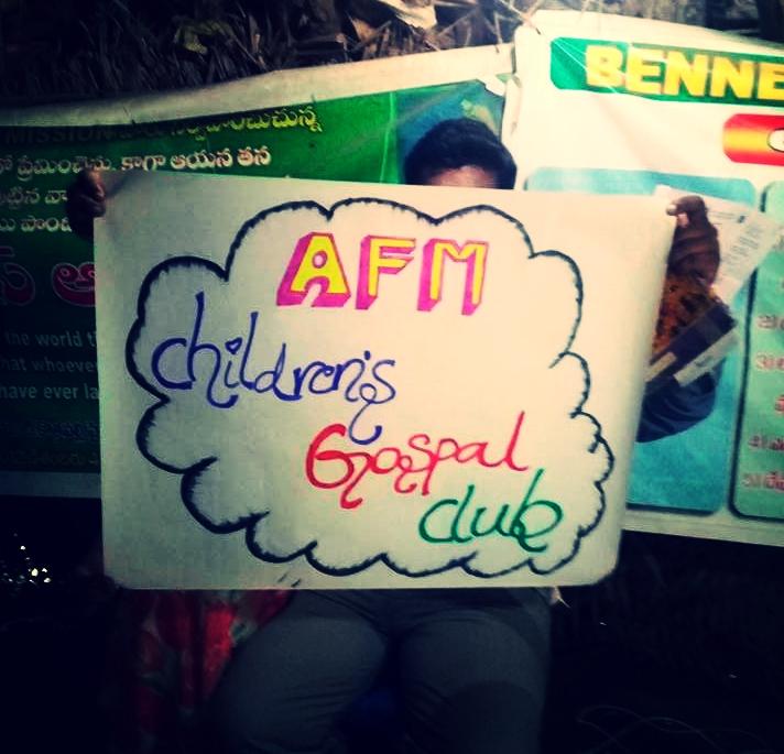 2017 AFM Church- India - Children's Gospel Club, teaching little ones in India about Jesus