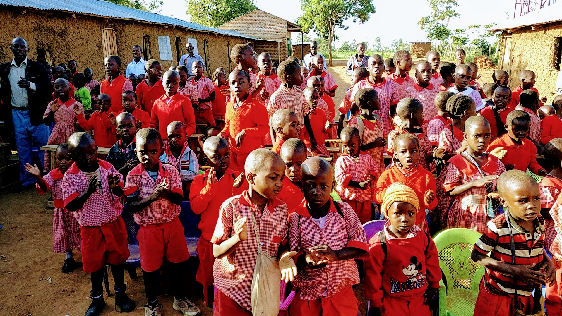 our Kenyan children of AFM Mercy School