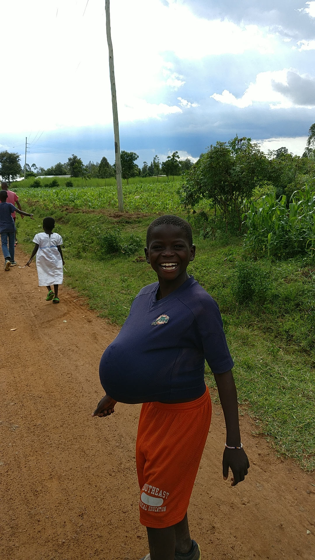 first pregnant kenyan boy maybe??😂