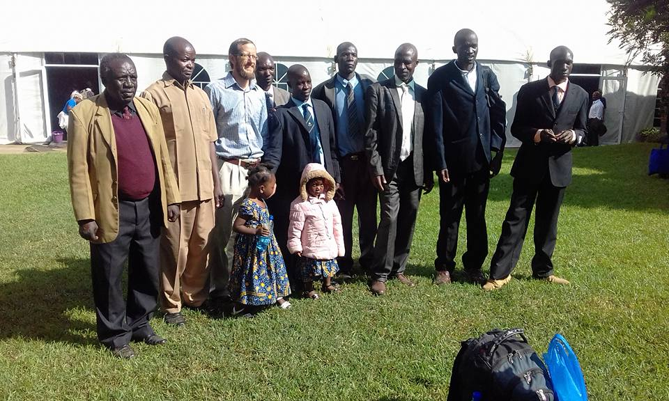 Left to right:  Samson Muyenga Walala , Conrad Sifuna,  Jeff Bys , Leonard Wanyonyi,  Moses Simiyu , Stephen Barasa ,  Moses Wamukota , Bismarch Busolo, and Titus Nyongesa.