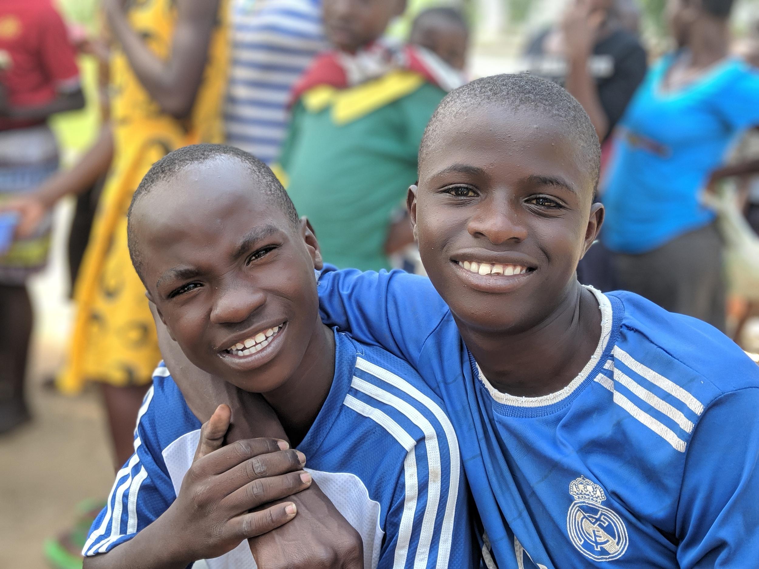 This picture was taken in June of 2019 💙💙💙. Danny Chapia and Dan Kamau