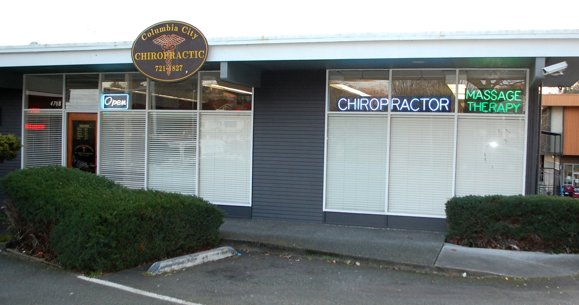 Columbia City Chiropractic Office. Columbia City Massage. Rainier Valley Chiropractor. South Seattle Chiropractor.
