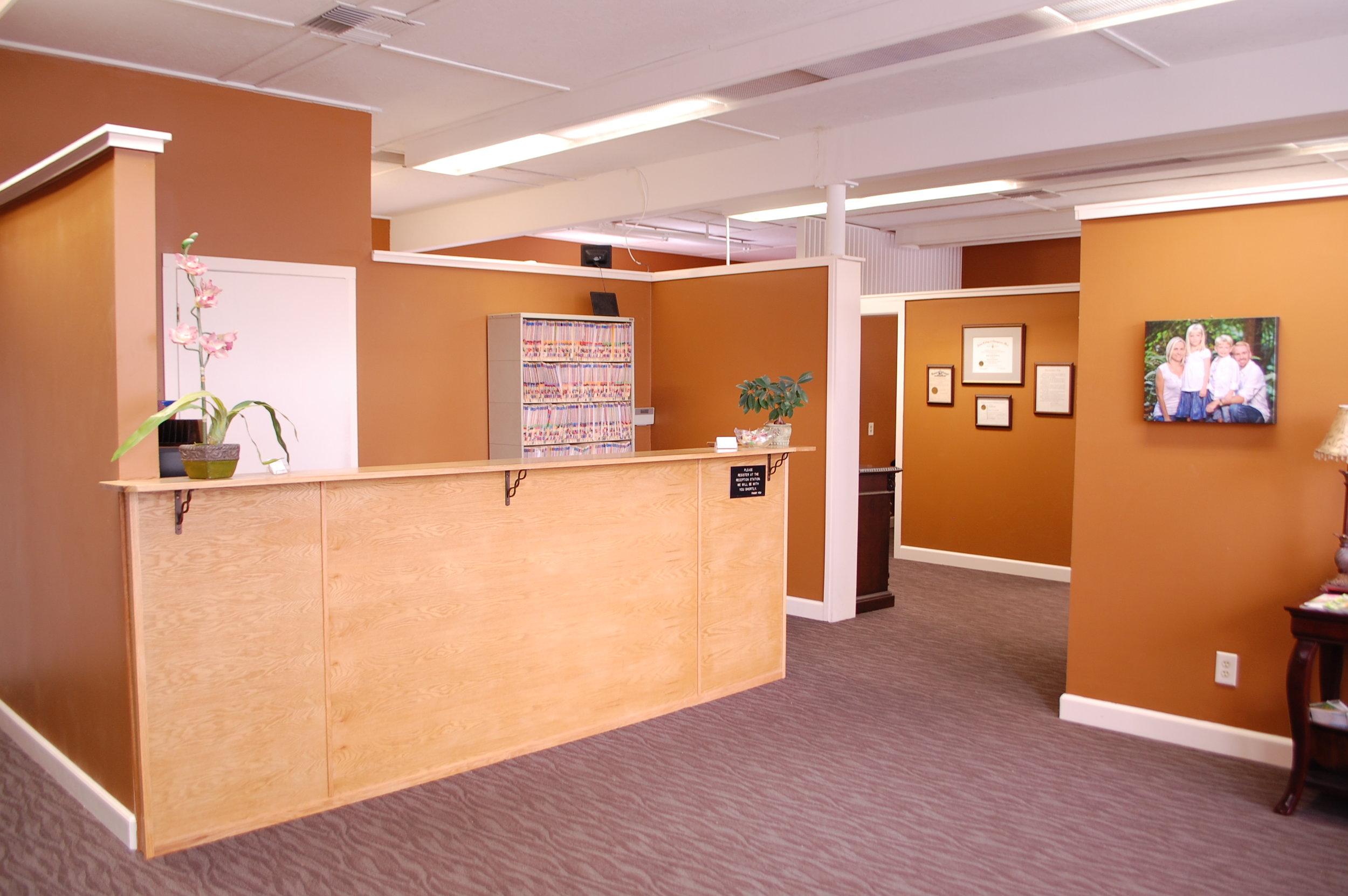 Columbia City Chiropractic Front Desk