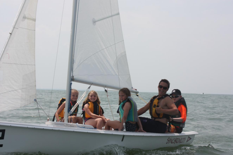 Sailing in a JY