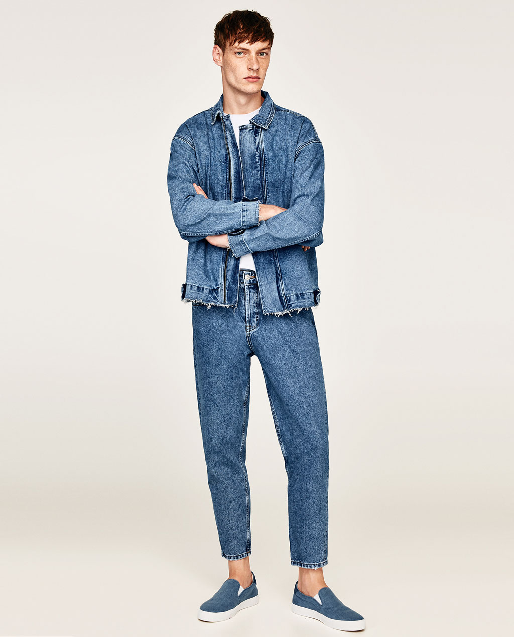 Zara Denim Essentials Jacket
