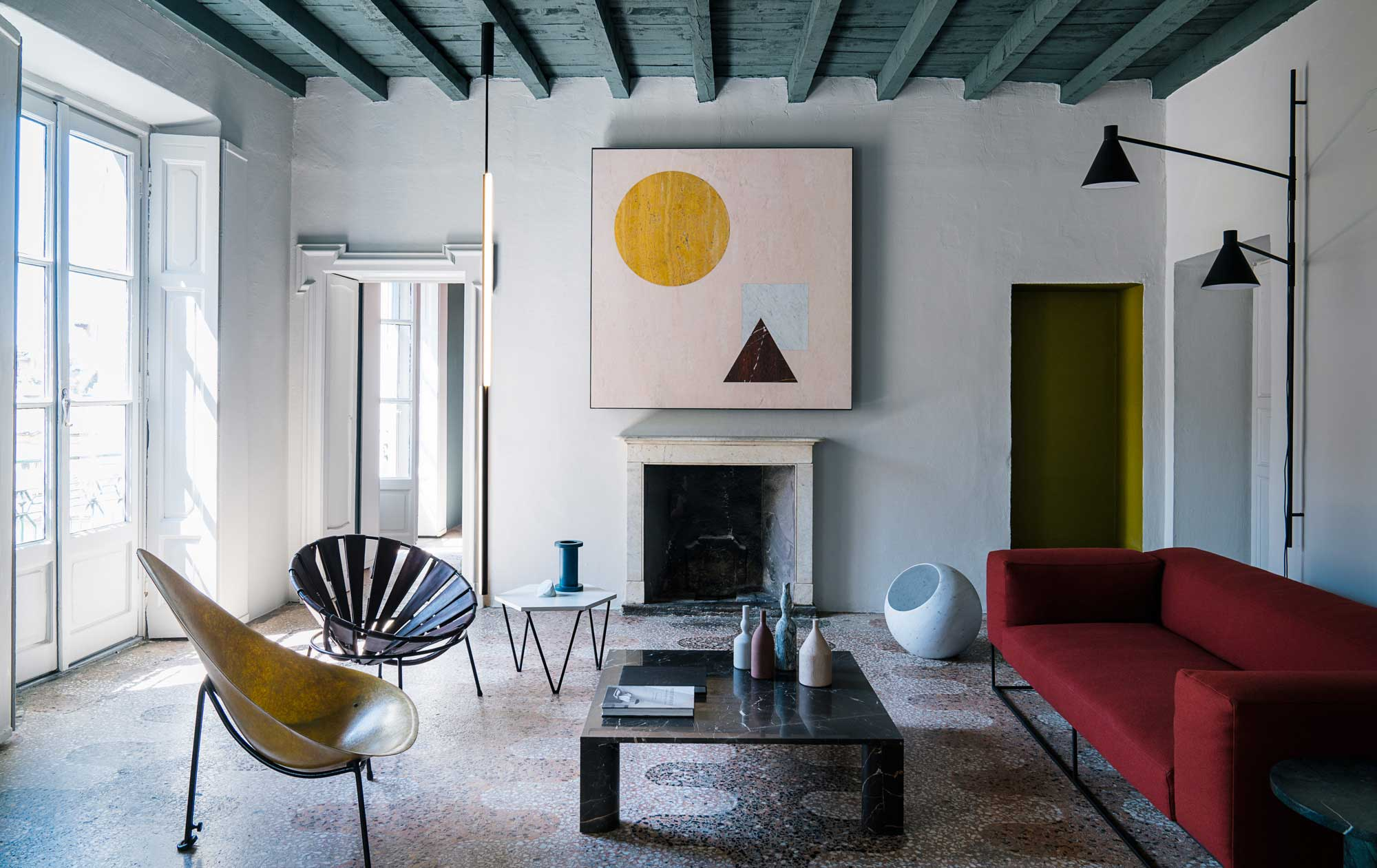 Beautiful interior photography by Giorgio Possenti. Love the shapes and colors in his images. ©  Giorgio Possenti