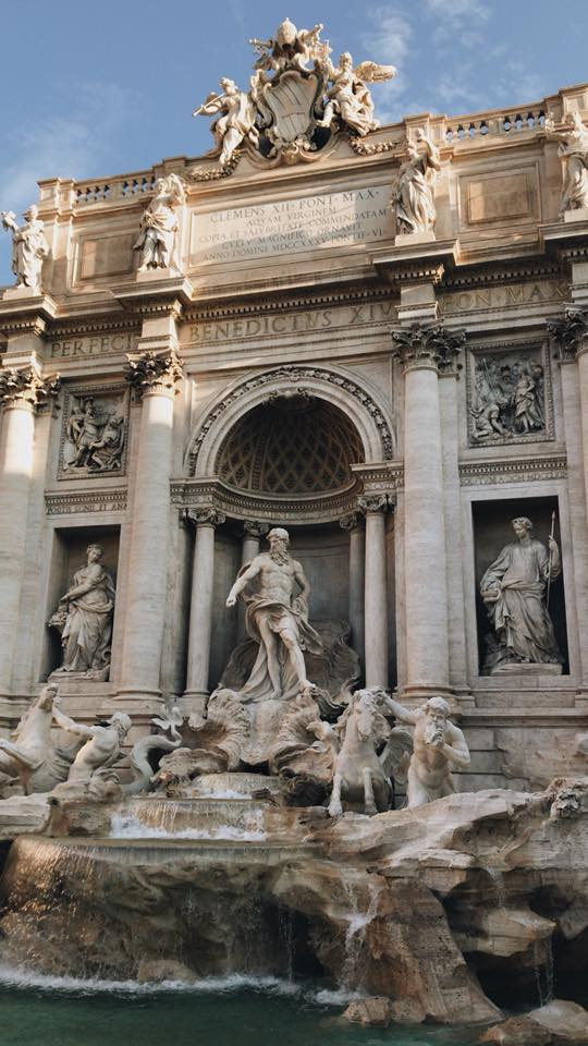 Trevi Fountain, Rome Italy Photographer