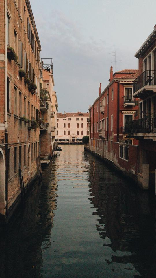 Alley in Venice, Italy Photographer