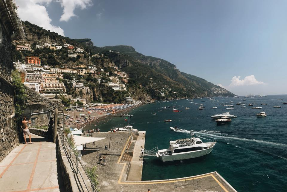 Panorama of Positano, Italy Photographer
