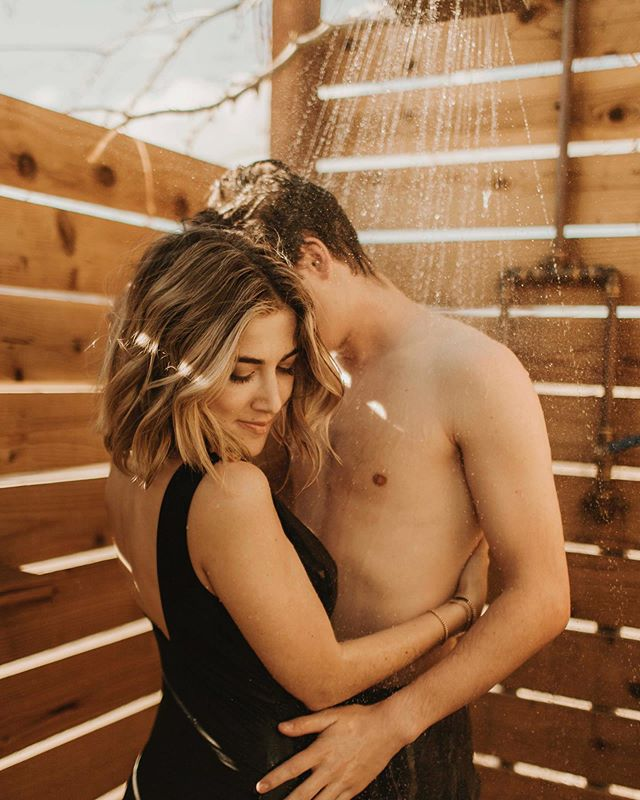 so have you ever third wheeled with a couple in the shower? no? just me? 🤪