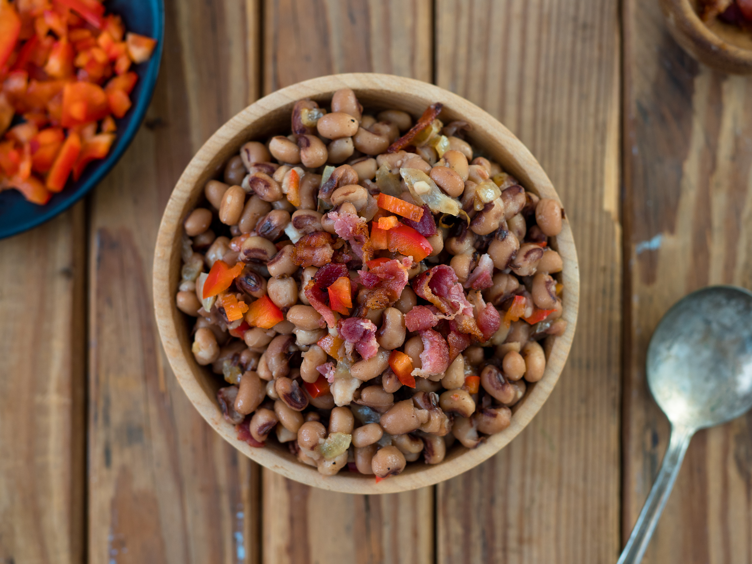portland food photography jeremy pawlowski southern side dish black eyed peas