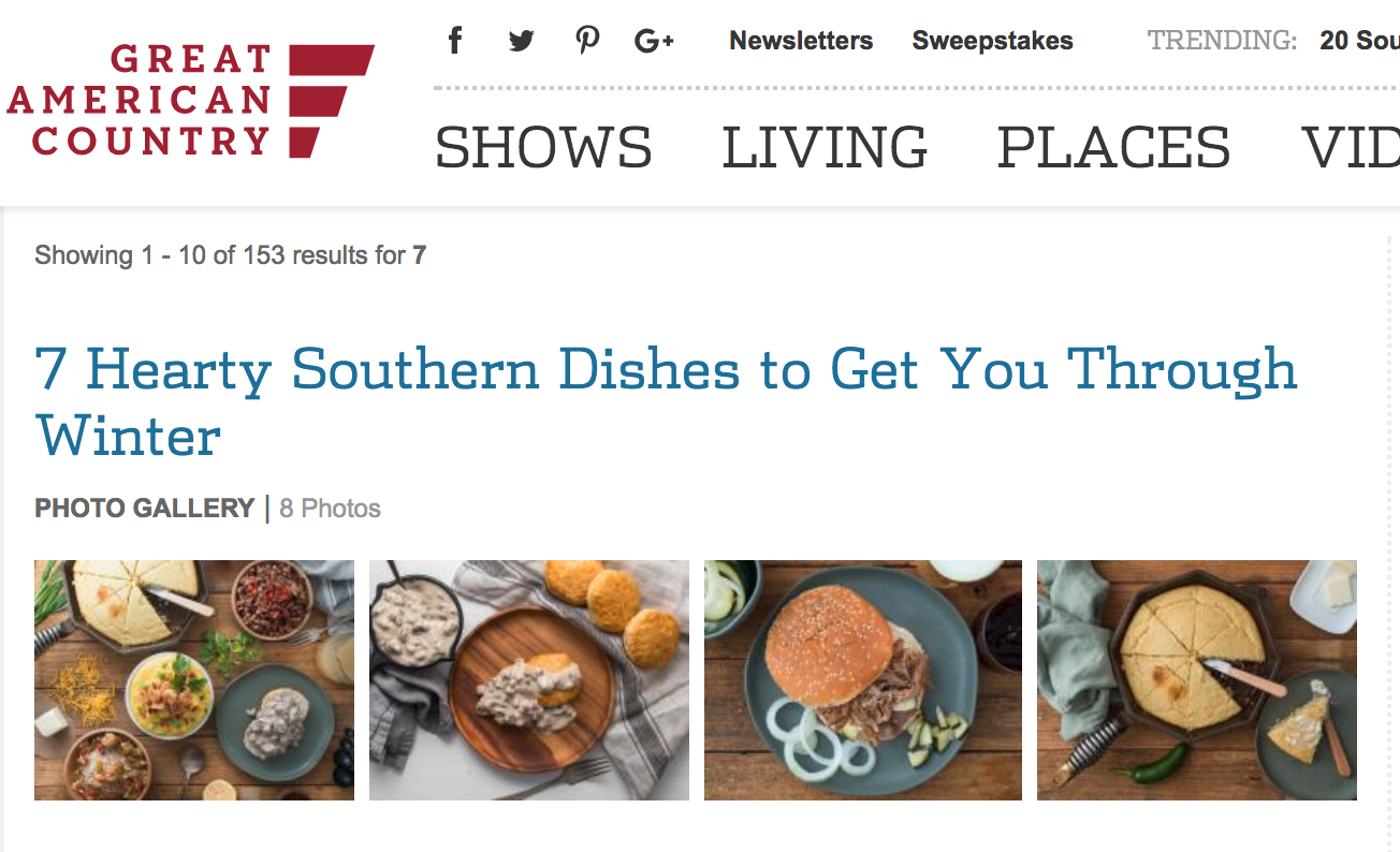 Southern Dishes