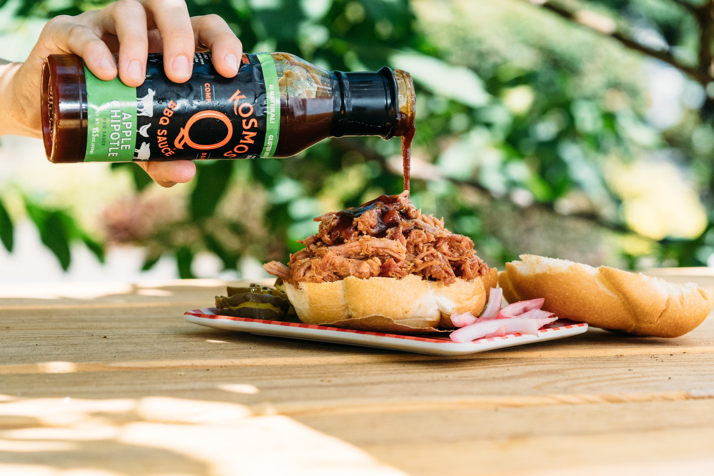 kosmos bbq sauce jeremy pawlowski portland oregon texas food photographer photography restaurant pulled pork