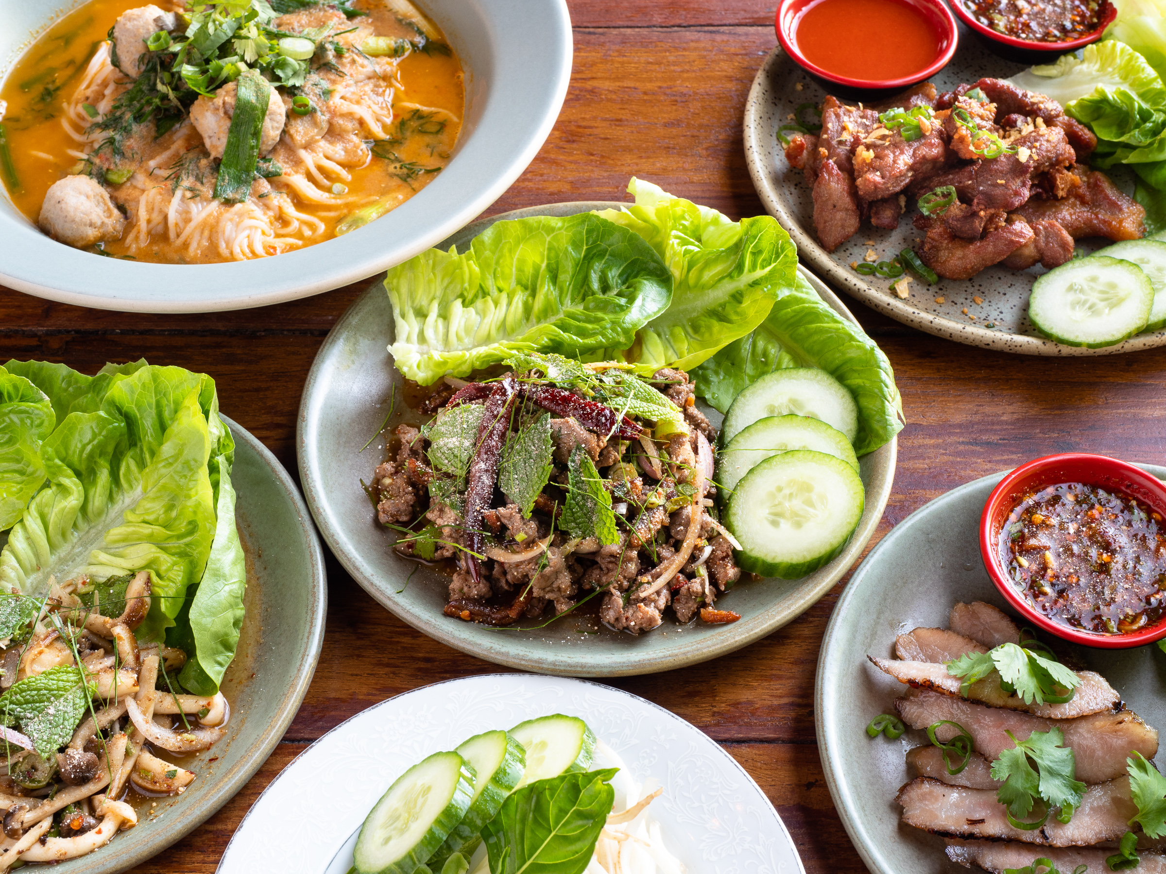 kosmos bbq sauce jeremy pawlowski portland oregon texas food photographer photography restaurant paadee larb