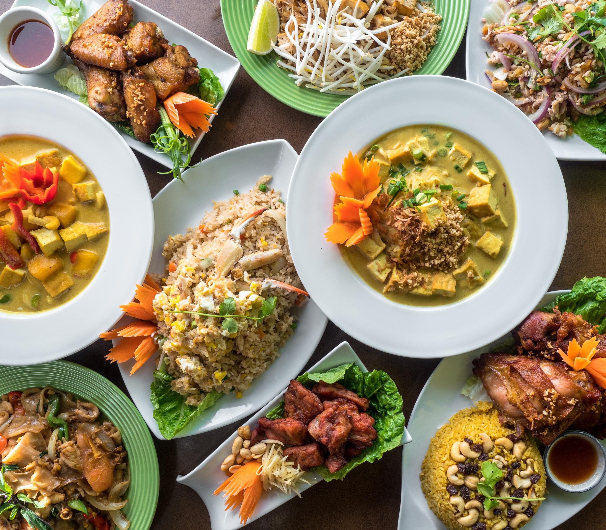 classic thai cuisine jeremy pawlowski portland oregon texas food photographer photography restaurant menu