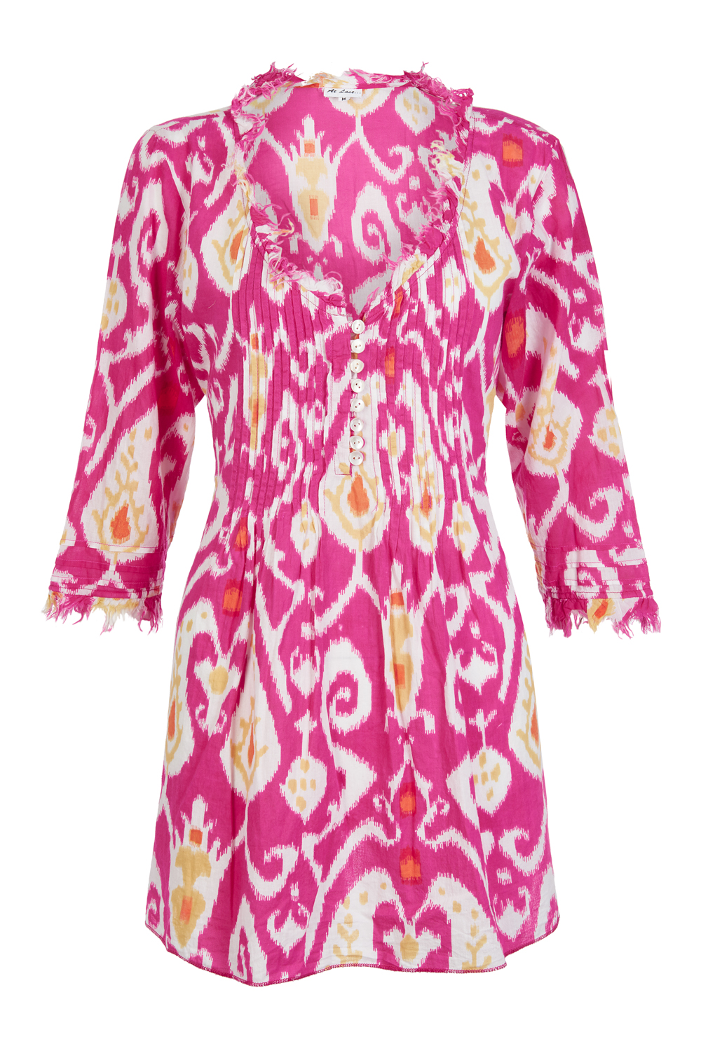 At Last Sophie - Pink Ikat