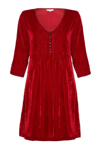 At Last Annabel (no Frill) - Red