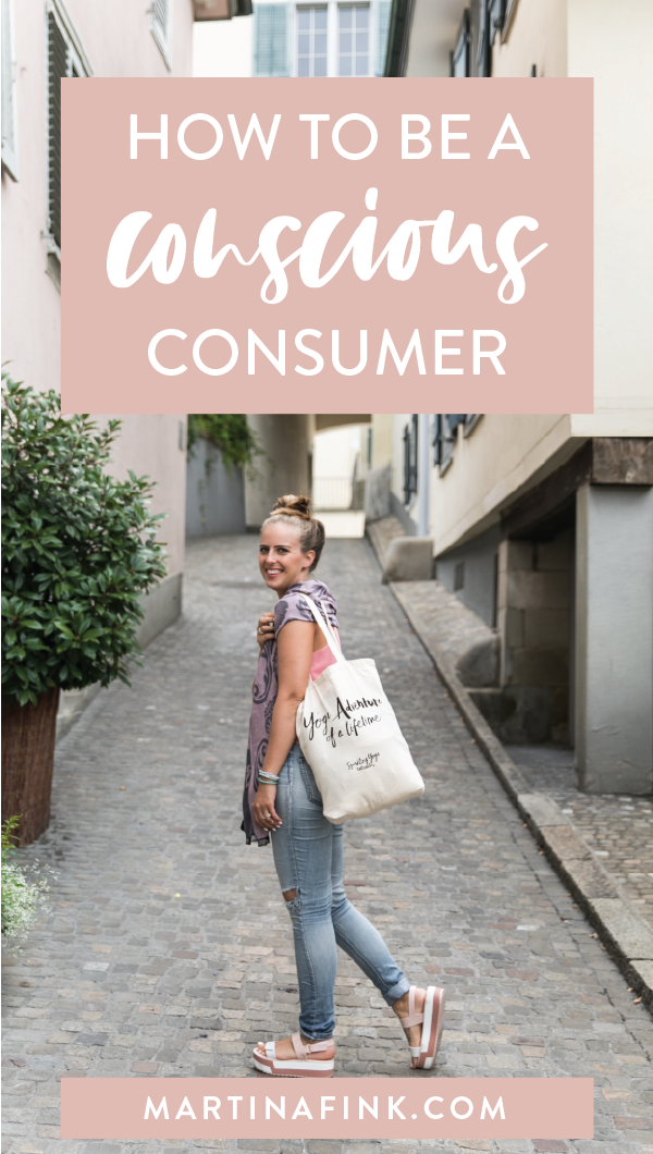 How to be a conscious consumer, how to live sustainably, sustainable shopping, minimalism | Martina Fink