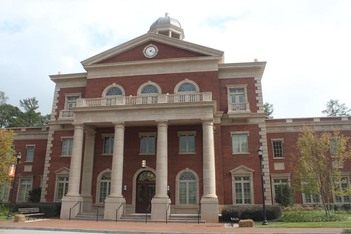 Alpharetta City Hall - Bibler Masonry