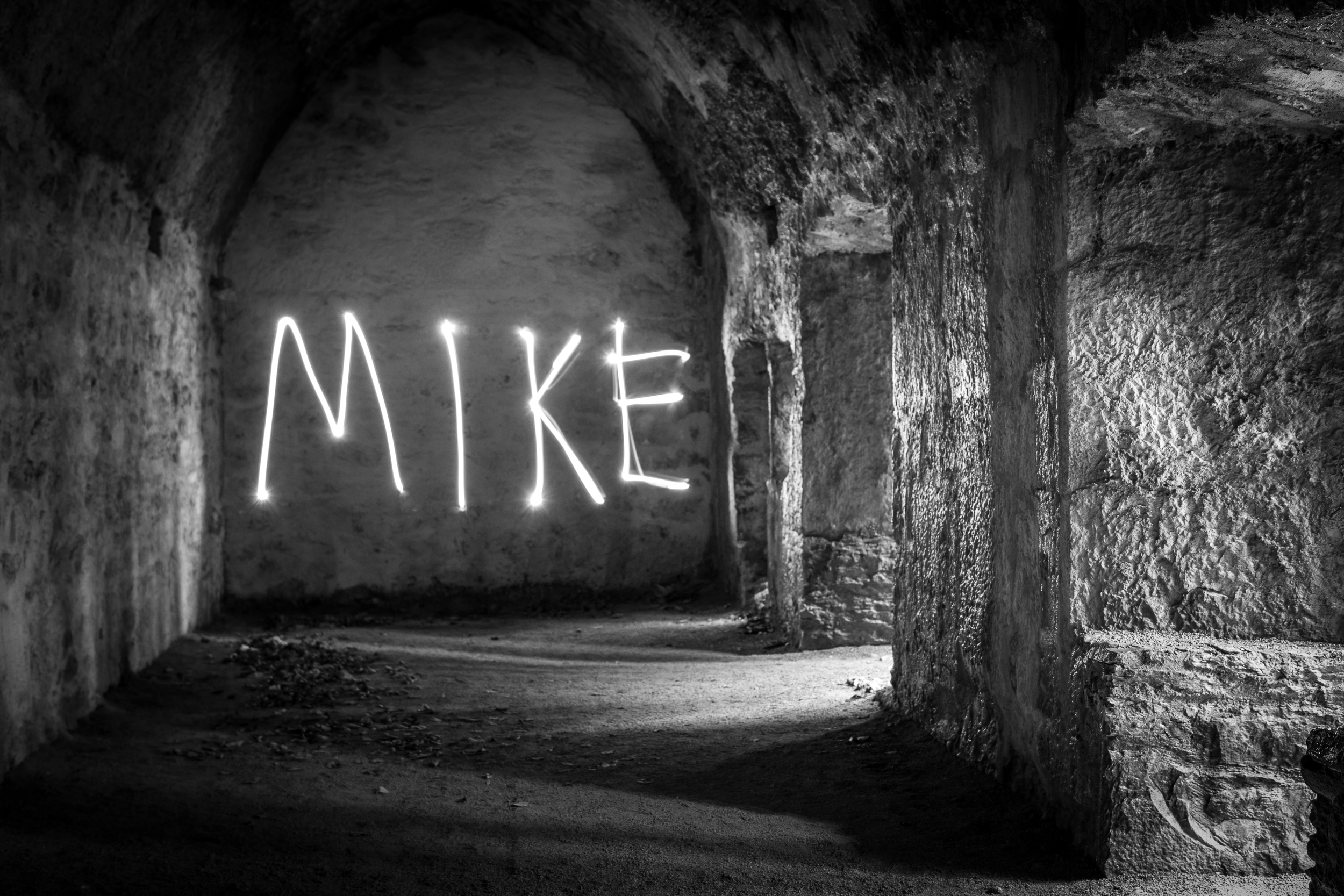 Light Graffiti: A form of self-expression and/or procrastination. In this case we can add narcissism to the mix.
