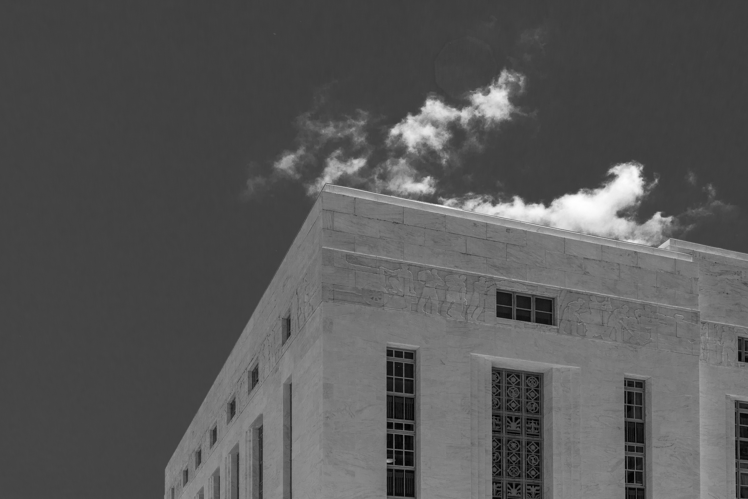 The Art-Deco, James T. Foley Courthouse.