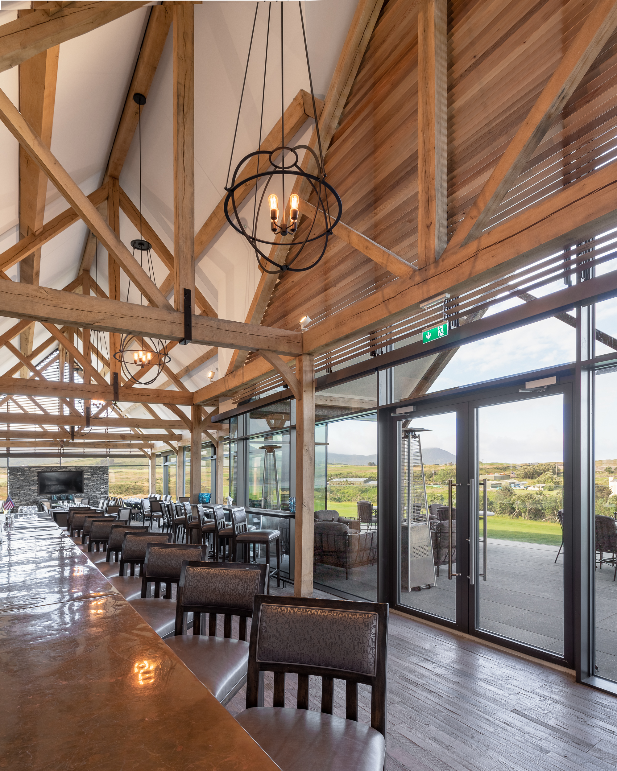 Glenfort Timber Engineering - Hog's Head Golf Club Clubhouse