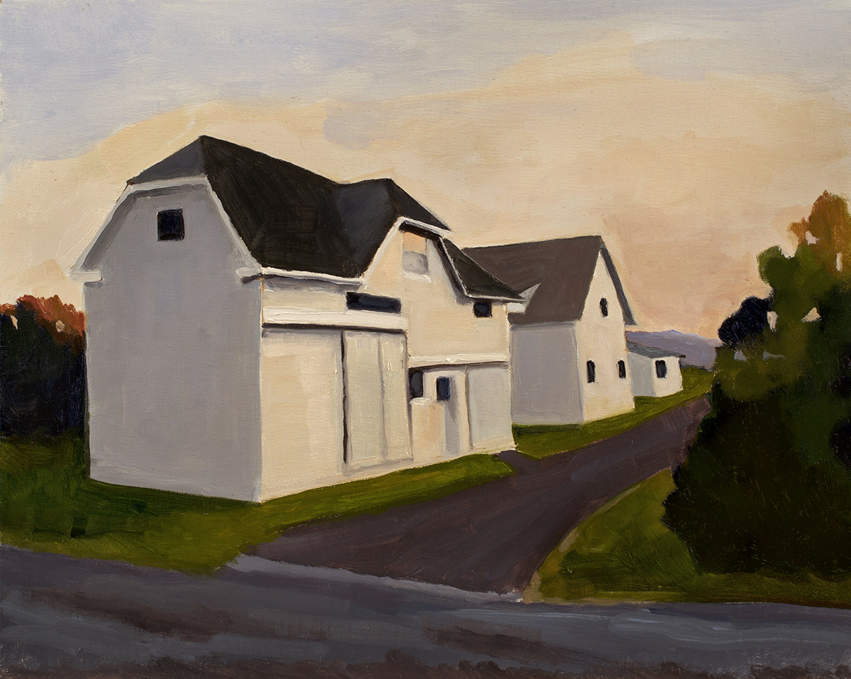 White Barns, Early Morning