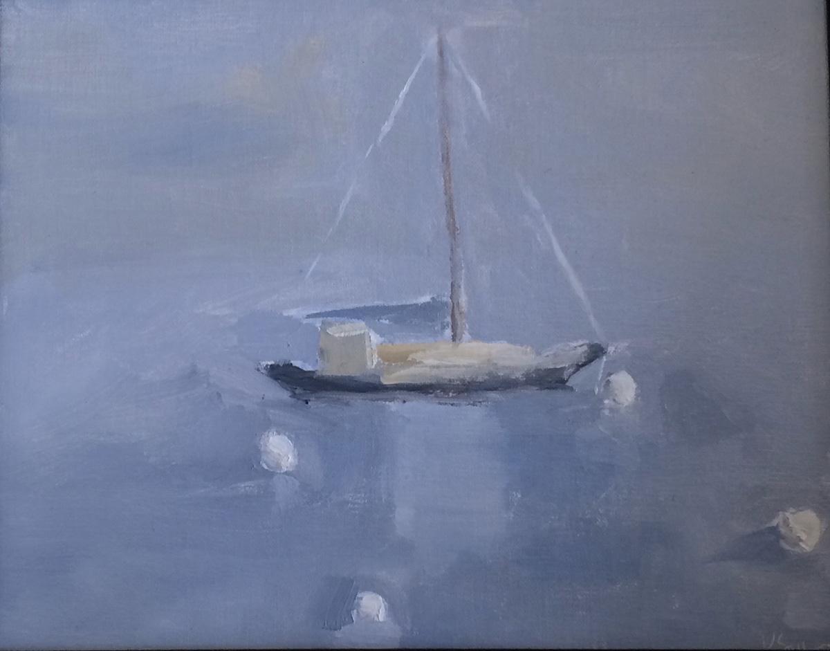 Maine Sailboat