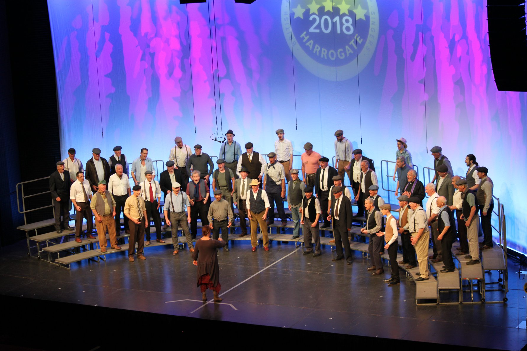 Spirit of Harmony perform at the 2018 BABS Convention in Harrogate, 26th May 2018