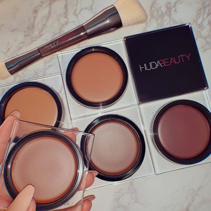 Huda Beauty's New Tantour Makes It Way Easier to Contour and Bronze Your Face at the Same Time