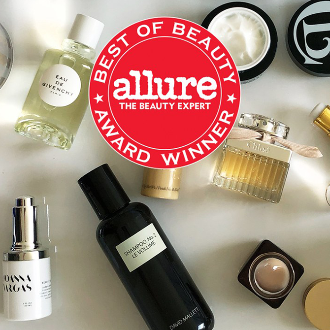 Presenting the Winners of Allure's Best of Beauty Awards for 2018