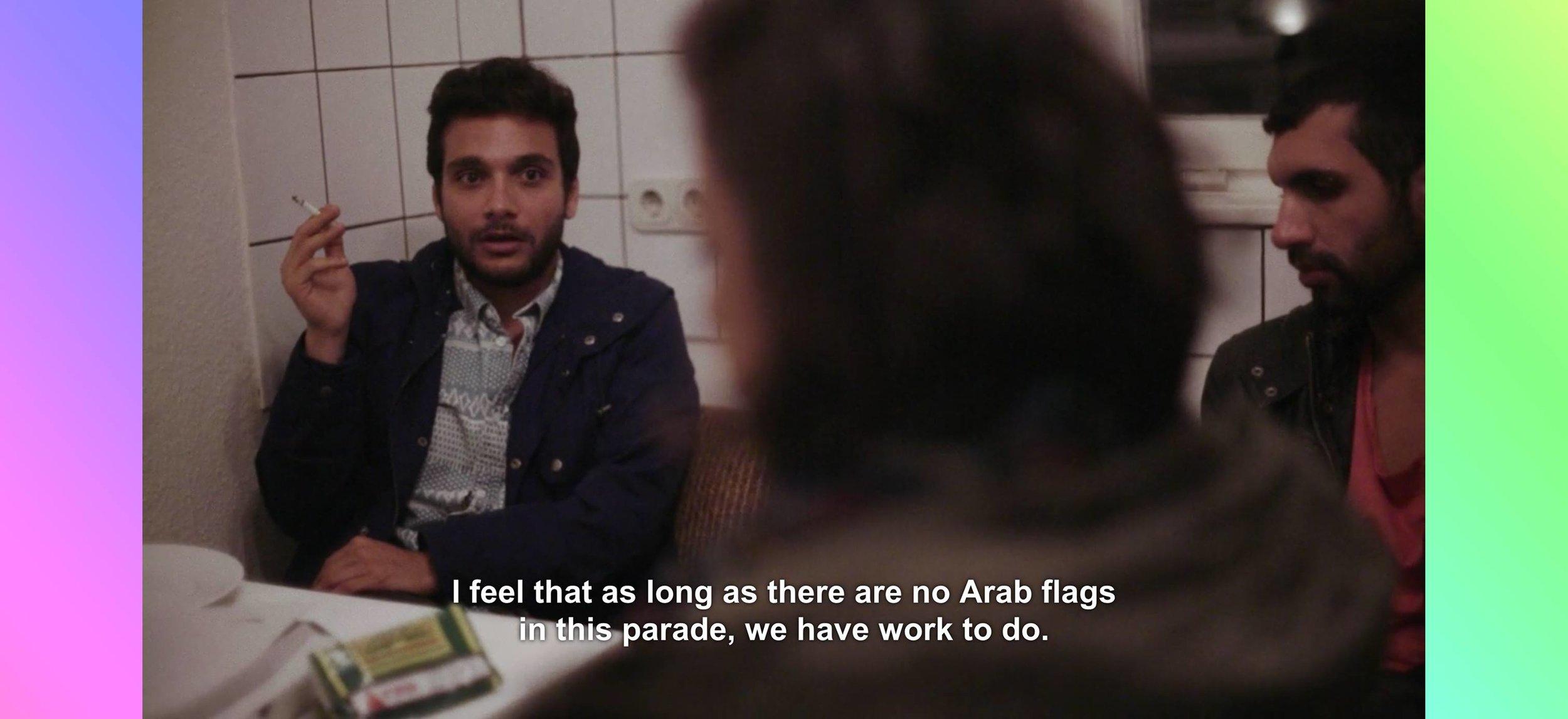 Pride of Arabia March London Pride - saturday 07.08.2017, London