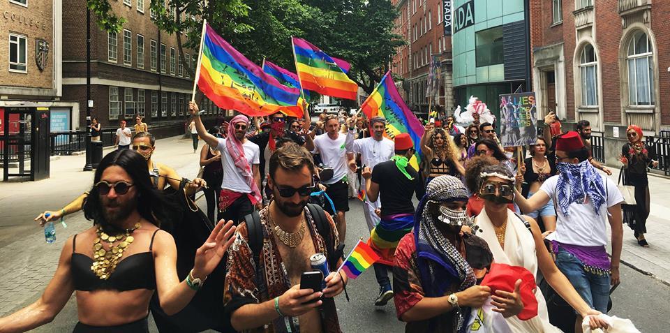 Pride of Arabia @UK BLACK PRIDE 2018 - Sunday 07.08.2018, Vauxhall Pleasure Gardens, SE11