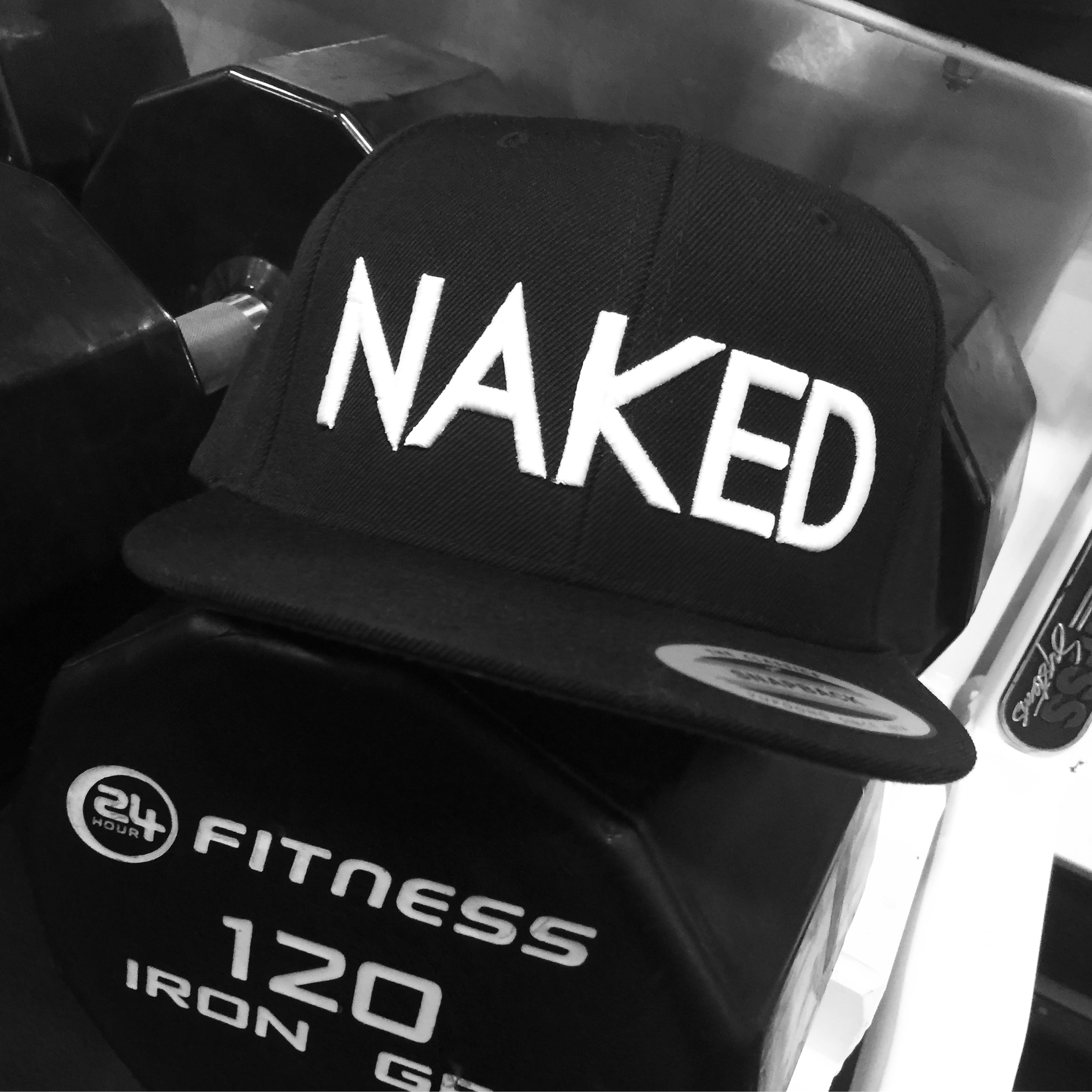 Look Great Naked Snap Back
