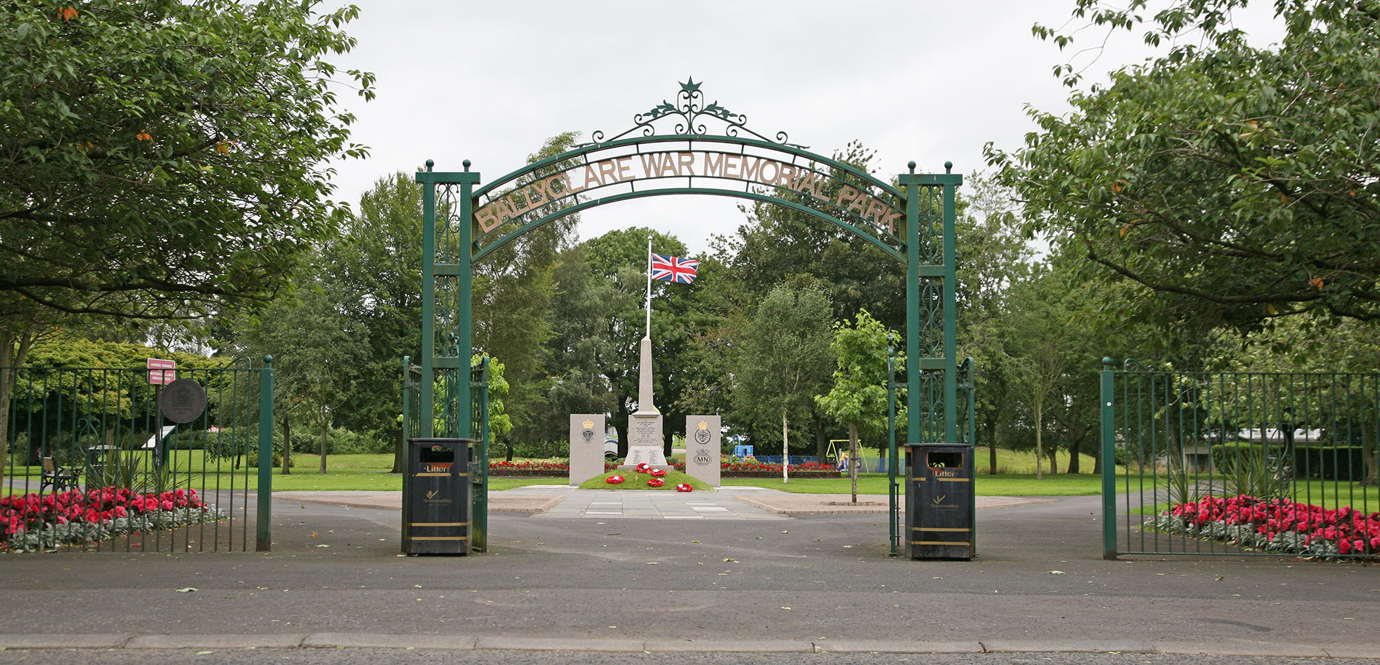 Ballyclare War Memorial Park