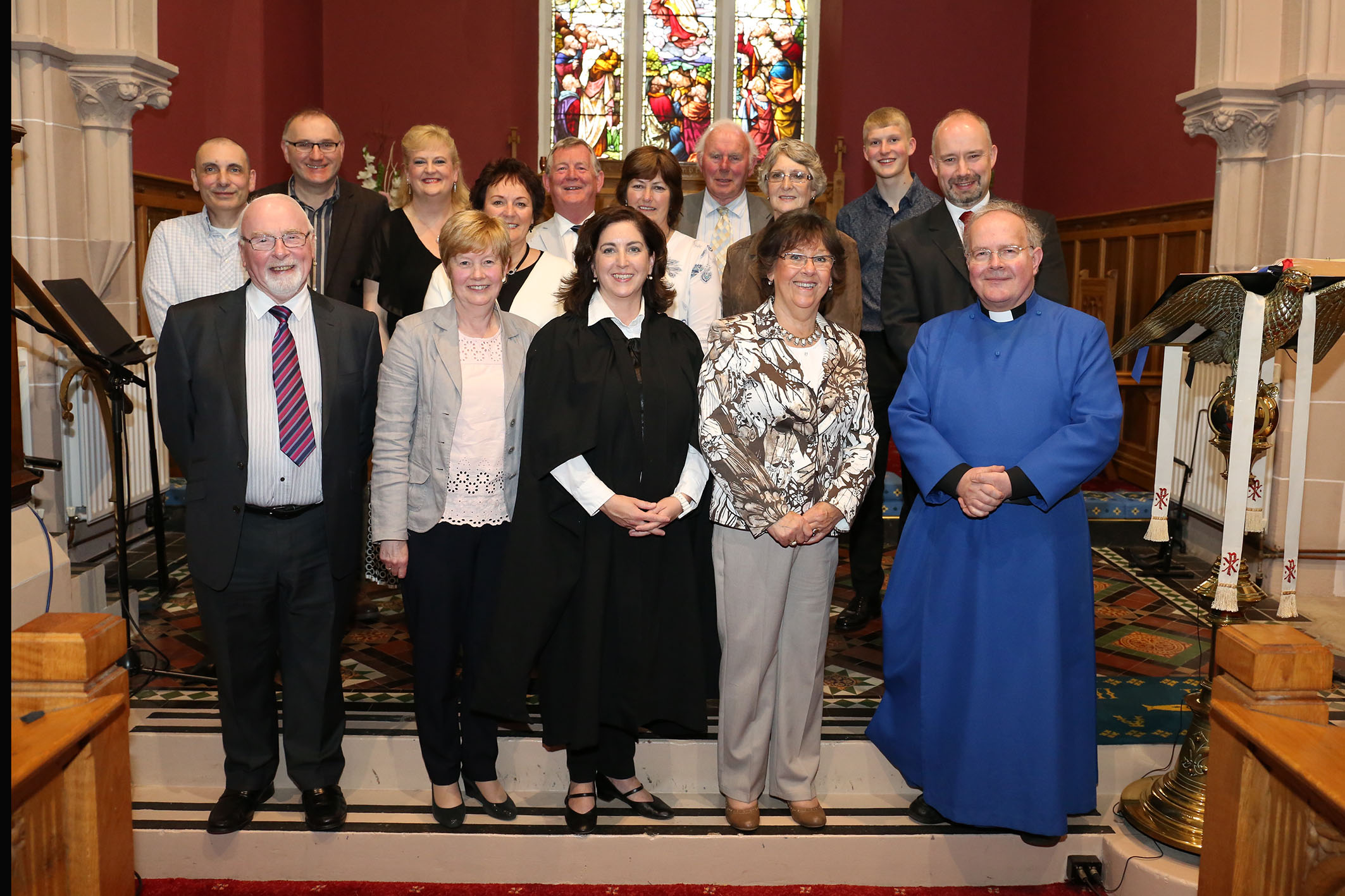 Musicians, singers and readers who took part in the Kilbride recital.