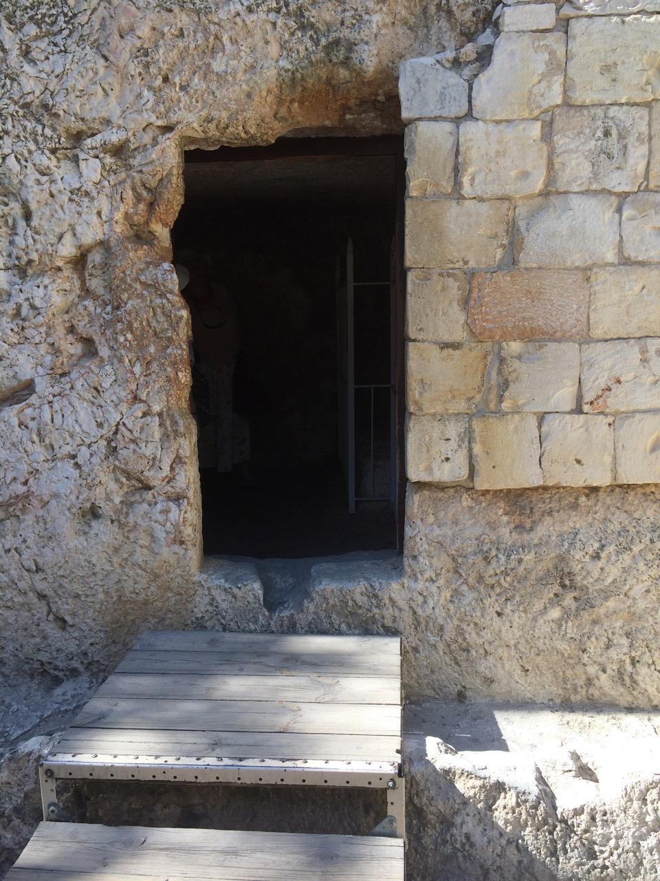Entrance to the Garden Tomb, Jerusalem