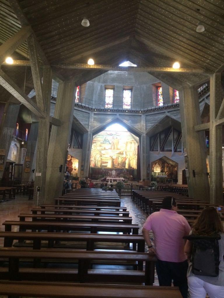 Upper church in the Basilica