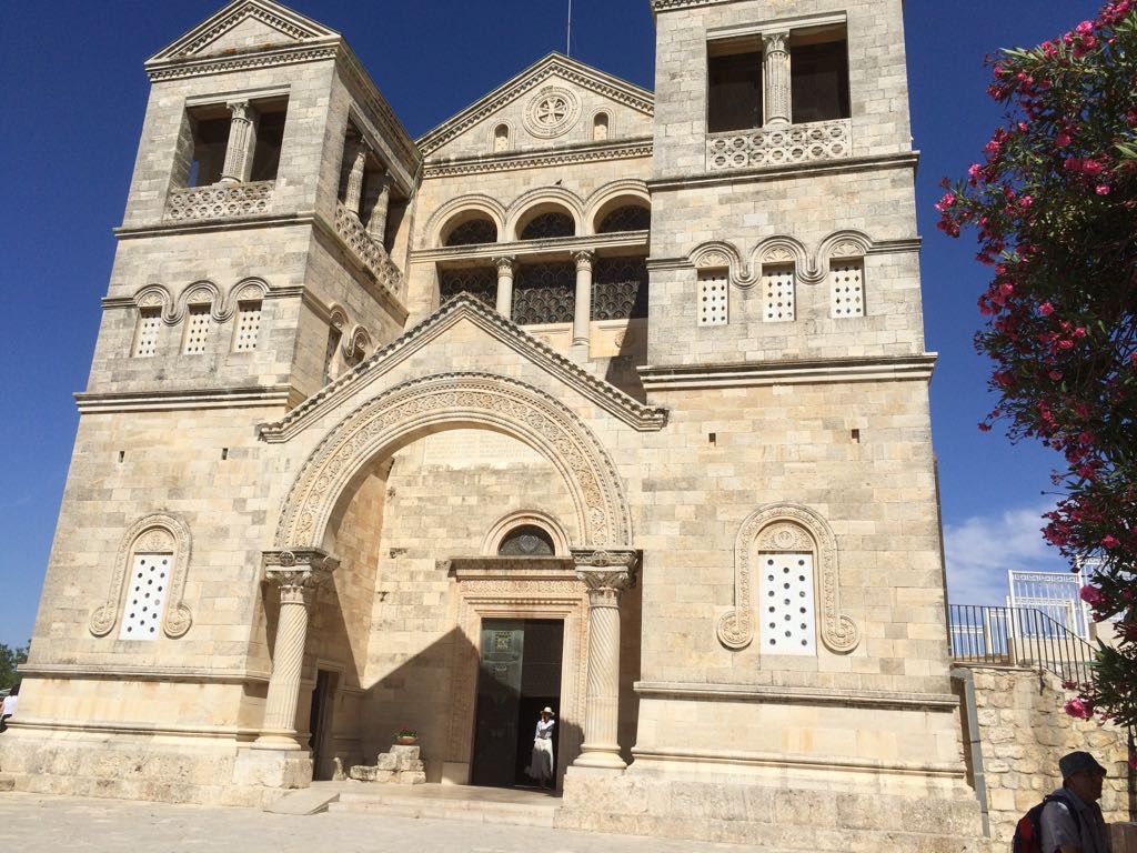 Church of the Transfiguration on top of Mount Tabor