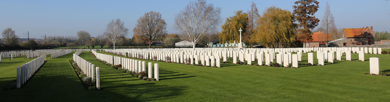 Railway Dugouts Burial Ground (Transport Farm), Ypres, Belgium