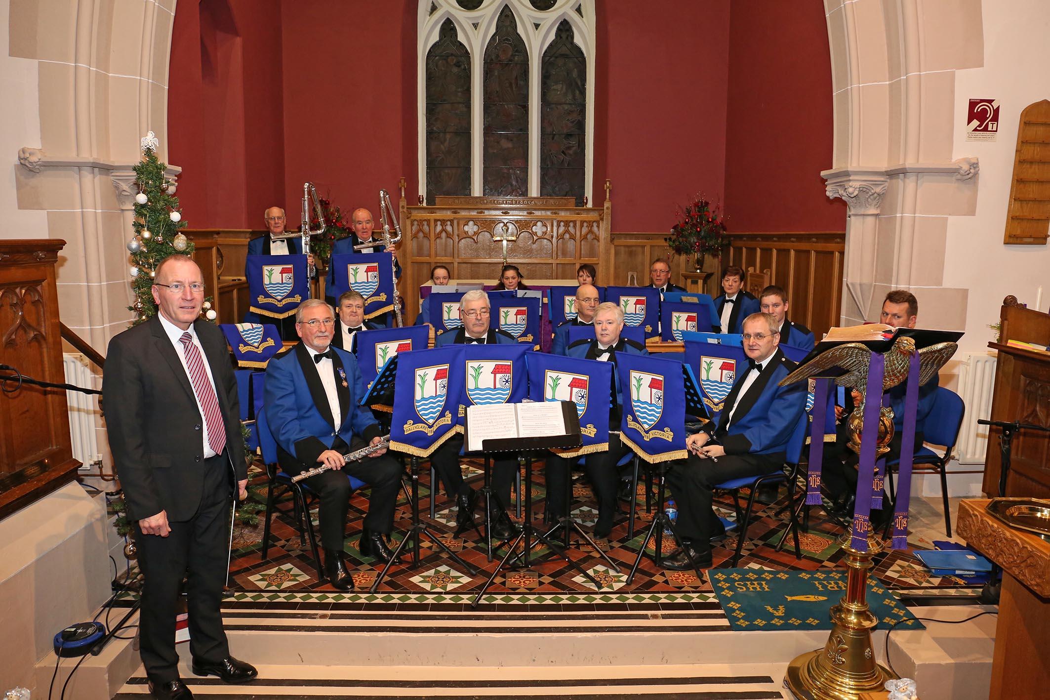 Ballyclare Victoria Flute Band 2016