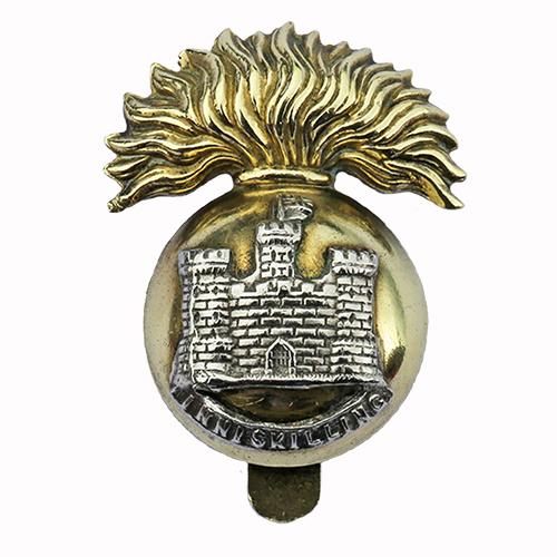Royal Inniskilling Fusiliers Cap Badge