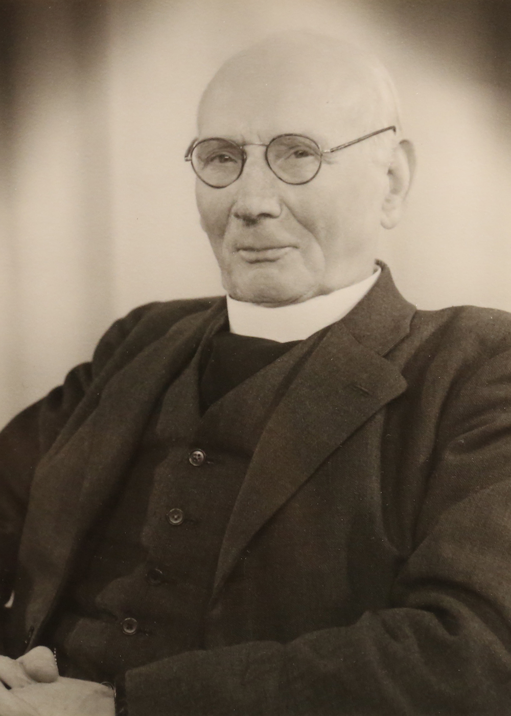 Rev. John Redmond, former rector of St Bride's Church.